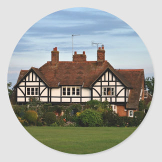 Rothschild Houses on the Rec'at Wingrave Round Sticker