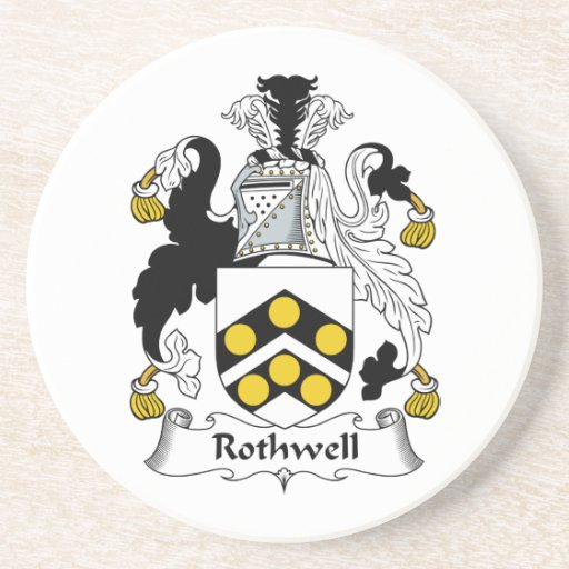 Rothwell Family Crest Coasters