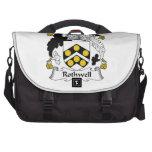 Rothwell Family Crest Laptop Commuter Bag