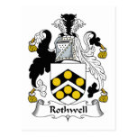 Rothwell Family Crest Postcards