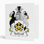 Rothwell Family Crest Vinyl Binder