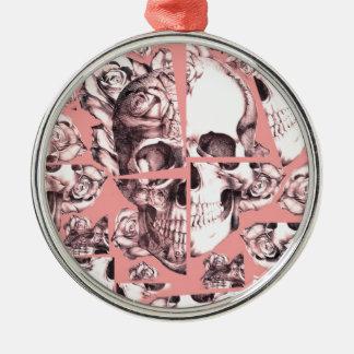 Roto para arriba imágenes fracturadas del cráneo adorno para reyes
