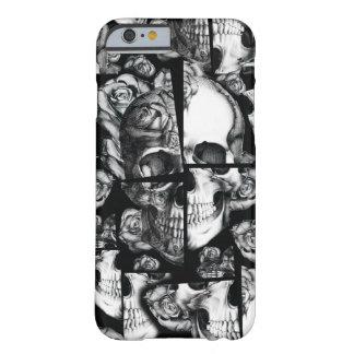 Roto para arriba imágenes fracturadas del cráneo funda de iPhone 6 slim