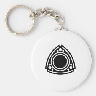 Rotor Basic Round Button Keychain