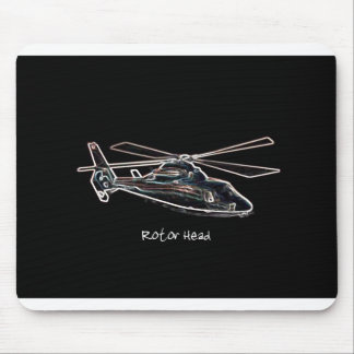 Rotor Head Mouse Pad
