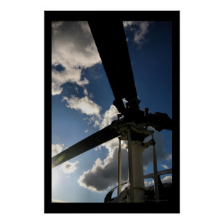 Rotor Head Poster