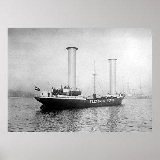Rotor Ship Print