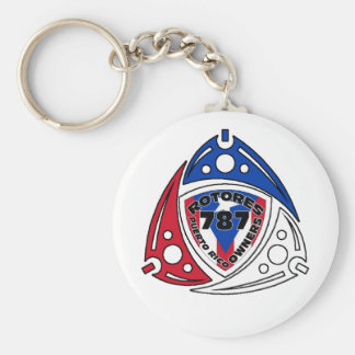 RotoreS PR Owners Basic Round Button Keychain