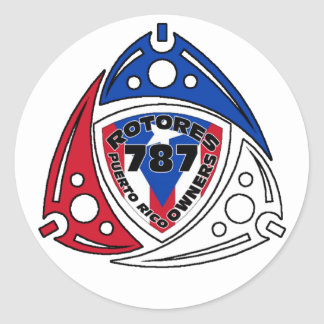 RotoreS PR Owners Classic Round Sticker