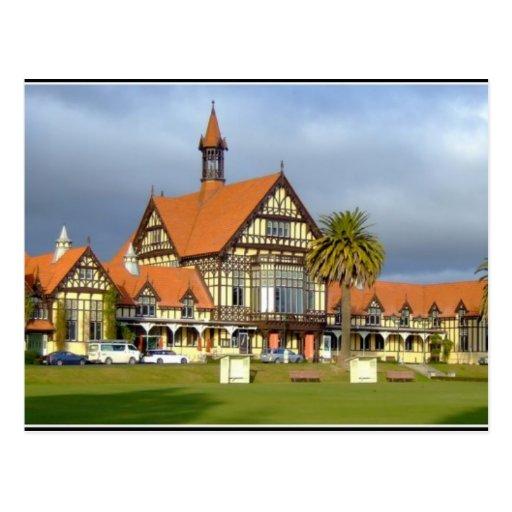 Rotorua New Zealand Postcard