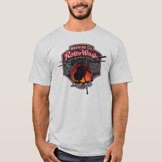 RotorWash Brewing Co. - Lean'n Lager Skycrane T-Shirt