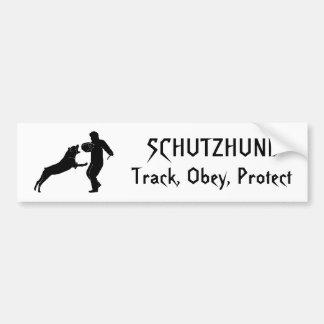 rott Track Obey Protect SCHUTZHUND Bumper Stickers