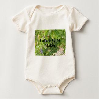 Rotta Dry Farmed Grapes on the Vine Baby Bodysuit