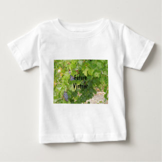 Rotta Dry Farmed Grapes on the Vine Baby T-Shirt