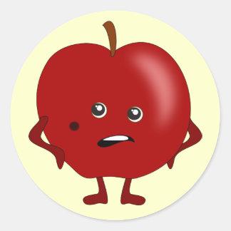 Rotten Apple: Bad Fruit Gang Round Sticker
