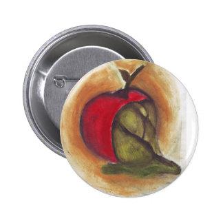 Rotten Apple Pinback Button