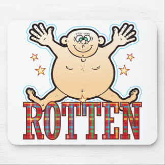 Rotten Fat Man Mouse Pad