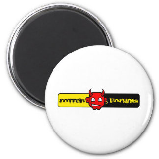 Rotten Forums Logo Magnet