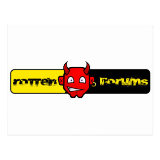 Rotten Forums Logo Postcard