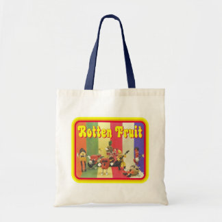 Rotten Fruit Band Tote Canvas Bag