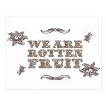 Rotten fruit postal