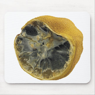 Rotten lemon mouse pad