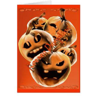 Rotten Pumpkins Card