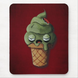 Rotten Zombie Ice Cream Mouse Pads
