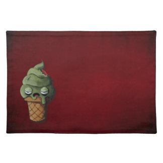 Rotten Zombie Ice Cream Place Mats
