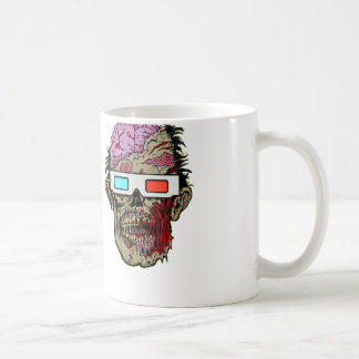 ROTTEN ZOMBIES BRAINS with 3D Glasses MUG