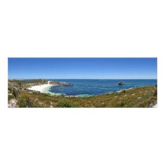 Rottenest Island panorama, Western Australia Photo Print