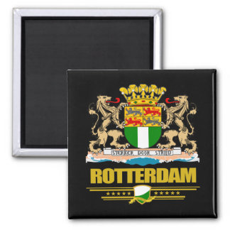 Rotterdam 2 Inch Square Magnet