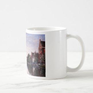 Rotterdam. A Corner of the Basin by Eugene Boudin Classic White Coffee Mug