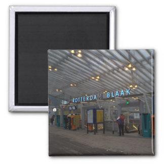 Rotterdam Blaak train station Fridge Magnets