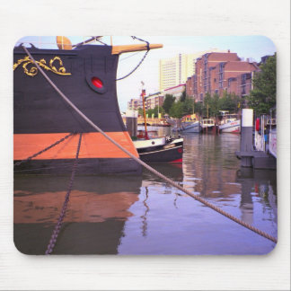 Rotterdam, bow of  Queen Juliana's Royal yacht Mouse Pad