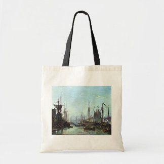Rotterdam By Jongkind Johan Barthold (Best Quality Tote Bag