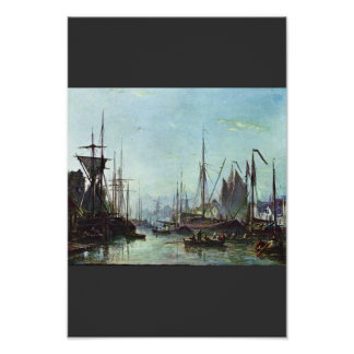 Rotterdam By Jongkind Johan Barthold (Best Quality Poster