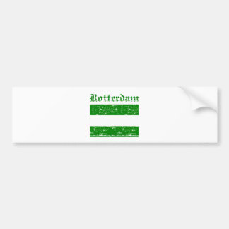 Rotterdam City Designs Bumper Sticker