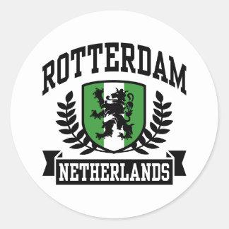 Rotterdam Classic Round Sticker