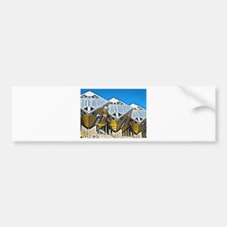 Rotterdam Cube Houses Bumper Sticker