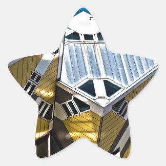Rotterdam Cube Houses Star Sticker