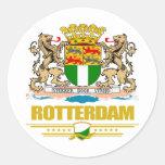 Rotterdam Etiquetas Redondas