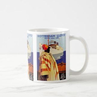 Rotterdam Lloyd Classic White Coffee Mug