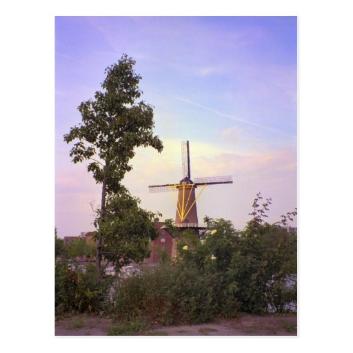 Rotterdam, molino de viento de Schiedam Postales