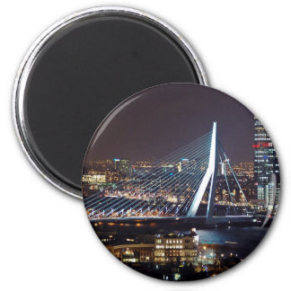 Rotterdam, Netherlands 2 Inch Round Magnet