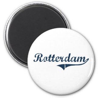 Rotterdam New York Classic Design Magnet