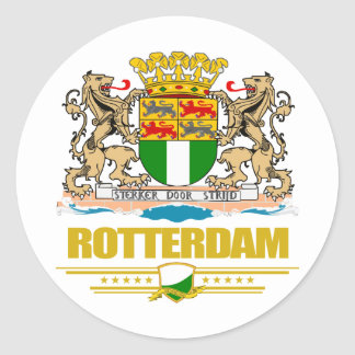 Rotterdam Pegatina Redonda