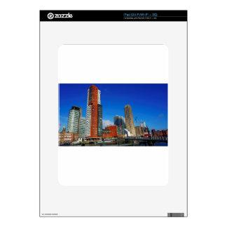 Rotterdam Skyline iPad Decals