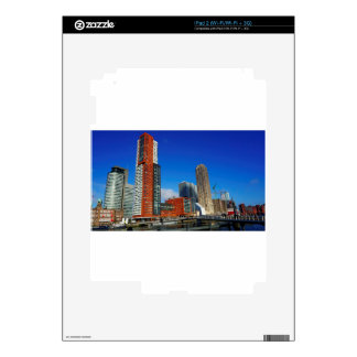Rotterdam Skyline Skin For The iPad 2