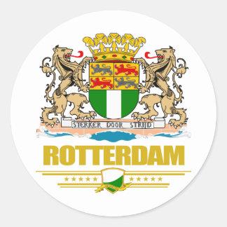 Rotterdam Round Stickers